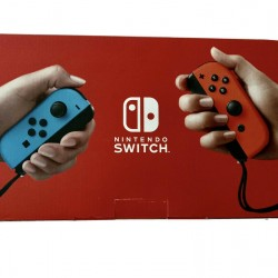 Brand New Nintendo Switch 32GB Red/Blue Console *Ships FAST!* (newest model)