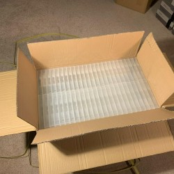 Lot of 100 Universal Game Case Replacement Cart N64 SNES GBA Jaguar Clear Box