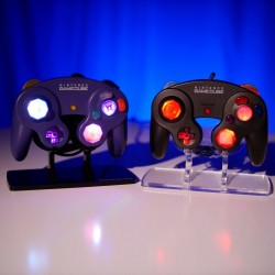 Customized GameCube Controller!! RGB LED MOD!! Pick Your Shell and Buttons!