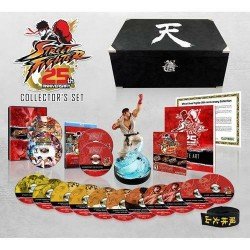 Brand New Street Fighter 25th Anniversary Collector's Set for Xbox 360