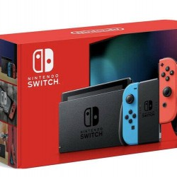 Nintendo Switch 32GB Neon Red/Neon Blue Console - Bundle , Games , Accessories