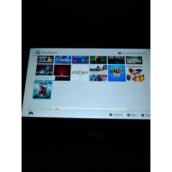 Nintendo Switch Bundle 9 game cartridges and downloaded games!!! lots of extras