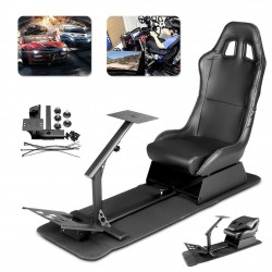 Driving Cockpit Play Seat Racing Chair Pro Video Game Seat For PC XBOX PS3 Wii