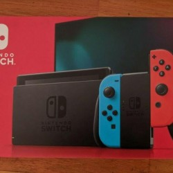 Brand New Nintendo Switch 32GB Neon Red/Blue Console