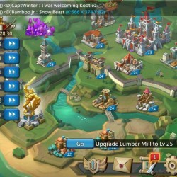 Lords Mobile account 32mm/Level 59