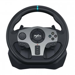 PXN Dual Vibration Racing Game Steering Wheel Pedals Driving for Xbox One PC