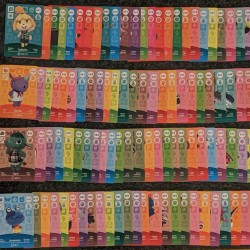 Animal Crossing Series 1 COMPLETE New Horizons Amiibo Cards 001-100 Lot