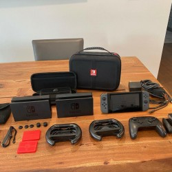 Perfect Condition Nintendo Switch and TONS of accessories