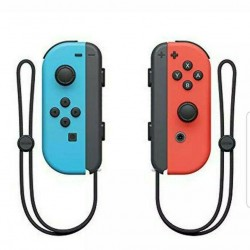 NEW Nintendo Switch With Neon Blue and Neon Red Joy-Con Handheld Gaming Console