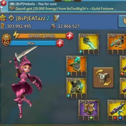 Lords Mobile Account 304 million might