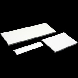 100 LOT of 3 White Replacement Door Slot Cover Lid for Nintendo Wii Console