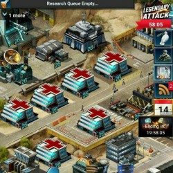 Mobile Strike Account - Lots of upgrades!