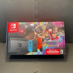 Nintendo Switch Mario Kart 8 Bundle *Brand New* Red and Blue -FAST SHIP-