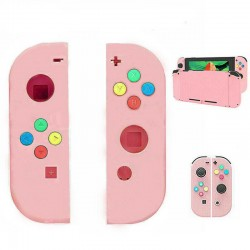 Pink Left+right Replacement Shell for Nintend Switch Console NS Case Joycon