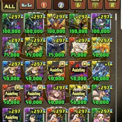 RANK 693 PUZZLES AND DRAGONS ACCOUNT - ALL META LEADS - 1400+ DAYS PLAYED-2CROWN
