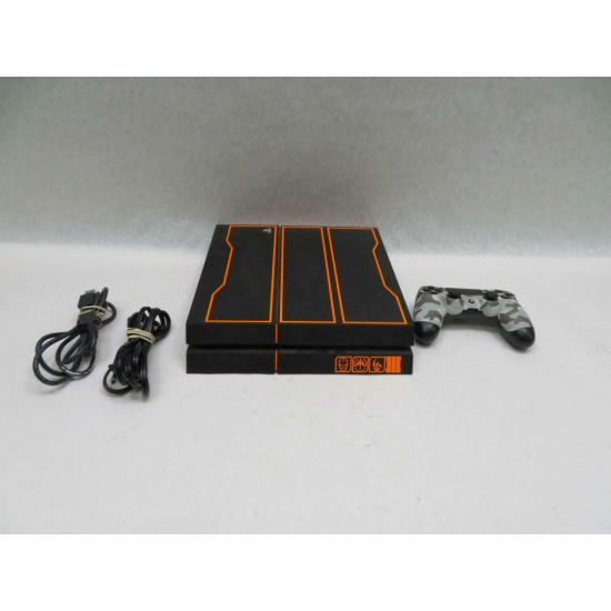 Sony PlayStation 4 Call of Duty: Black Ops III-Limited Edition 1TB Black/Orange Console