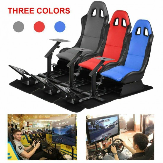Racing Simulator Cockpit Driving Seat Gaming Chair For PS3,PS4,Xbox One,PC,MAC