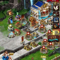 game of war account lots of speeds over7 bill gold lots of resourses lvl 54 vip