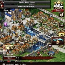 Game Of War Fire Age Account, VIP 1300, RSS galore