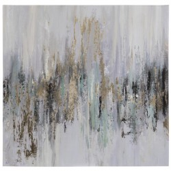 Dripping Gold Canvas Wall  cor