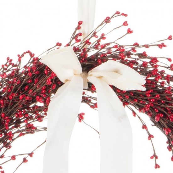 Red Seed Berr  Wreath